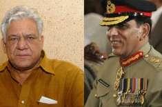 اوم پوری ملالہ یوسفزئی کی زندگی پر بننے والی فلم میں جنرل پرویز کیانی ..