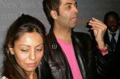 گوری خان کرن جوہر کیساتھ پارٹیوں میں شرکت کرنے لگیں