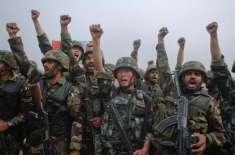 پاکستان اور چین کے درمیان مشترکہ فوجی مشقیں شروع ، مشقیں دو ہفتے جاری ..