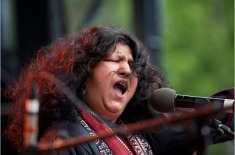 فوک موسیقی پاکستان ہی کی طرح دنیا بھر میں بھی پسند کی جاتی ہے'گلوکارعابدہ ..