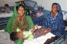 غذائی قلت کے باعث سول اسپتال مٹھی میں 4بچے انتقال کرگئے