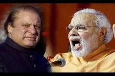 بھارت نے نریندرمودی کی حلف برداری کی تقریب میں نوازشریف کو شرکت کی ..