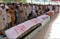 کراچی میں 2012ء میں مختلف واقعات میں جاں بحق ایم کیو ایم کے 136 کارکنوں ..
