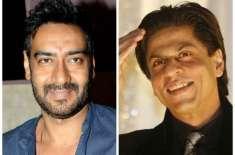 شاہ رخ خان اور اجے دیوگن کےدرمیان نفرتیں ختم، ایکدوسرے کو گلے لگا لیا