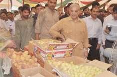 وزیراعلیٰ کابغیر پروٹوکول قصور میں رمضان بازاروں کے اچانک دورے،سستے ..