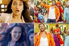 بالی ووڈ فلم ایکشن جیکسن کے گانے پنجابی مست کی ویڈیو ریلیز کر دی گئی