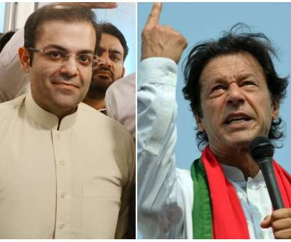 عمران خان کسی بھی فورم پر میر ے ساتھ مناظرہ کر لیں' سلمان شہباز کا چیلنج ..