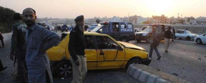 کراچی :ریموٹ کنٹرول حملے میں ایس پی سی آئی ڈی چوہدری اسلم سمیت 3 اہلکار ..