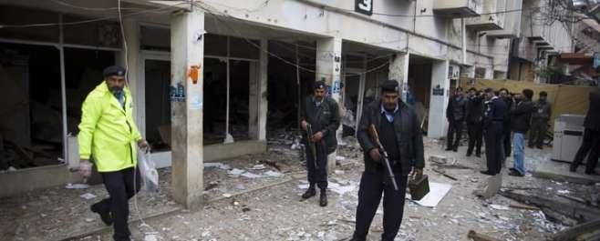 اسلام آباد،ایف ایٹ کچہری میں دوخودکش دھماکوں،فائرنگ سے سیشن جج رفاقت ..