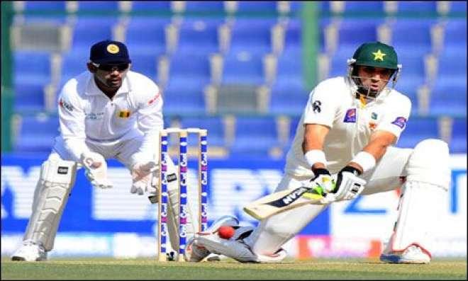ابو ظبی ٹیسٹ ،پاکستان پہلی اننگ میں383رنز پر آؤٹ