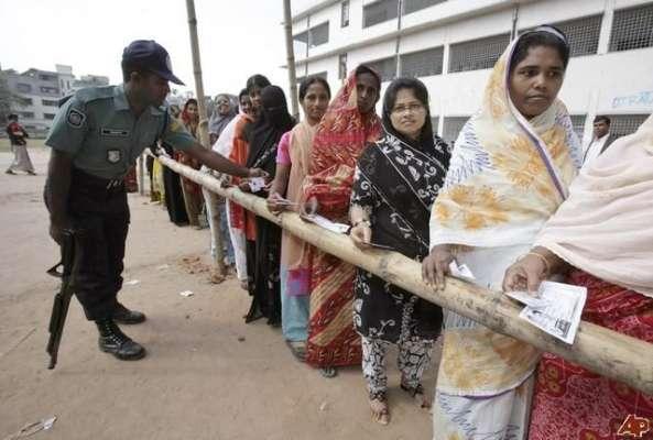 بنگلہ دیش میں انتخابات عوامی ترجمانی نہیں کرتے دوبارہ الیکشن کرائے ..