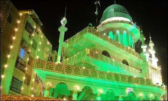 ملک بھر میں جشنِ عید میلاد النبی کی تیاریاں عروج پر
