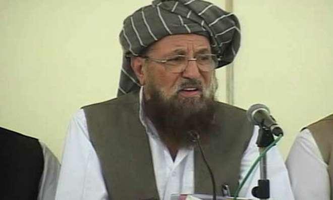 حکومت طالبان سے مذاکراتی عمل میں سنجیدہ نظر نہیں آتی، مولانا سمیع ..