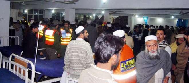 پشاور کے تبلیغی مرکز میں نماز مغرب کے دوران دھماکا، 9 افراد جاں بحق،55سے ..