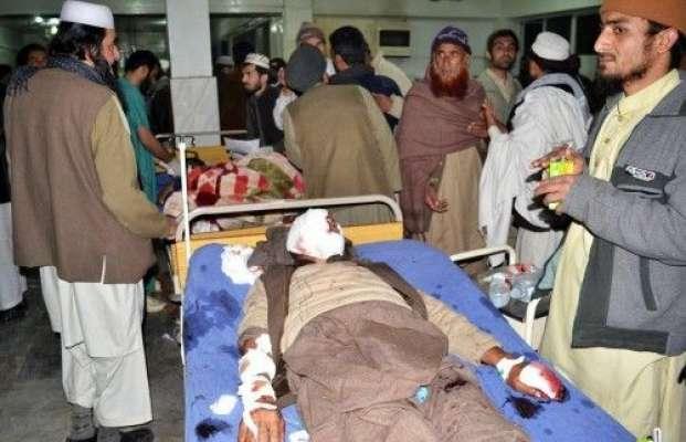 پشاور بم دھماکے کا مقدمہ درج،31 زخمیوں کو ابتدائی طبی امداد کے بعد ..