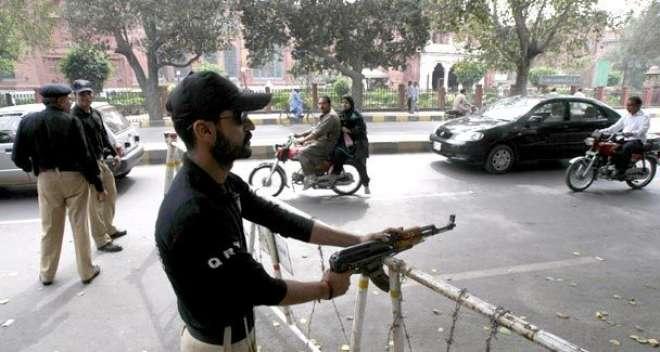 لاہوراورراولپنڈی سمیت پنجاب کے20 اضلاع میں دہشتگردی کاخطرہ، سیکیورٹی ..