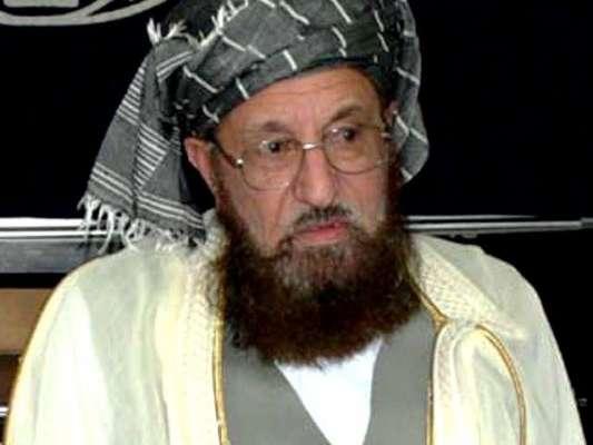 مذاکرات کے مخالفین کو بھیانک مستقبل کا اندازہ نہیں ہے،مولاناسمیع الحق، ..