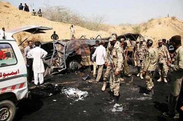 حب ٹریفک حادثےمیں جاں بحق ہونے والے 31 افراد کی امانتاً تدفین کا فیصلہ