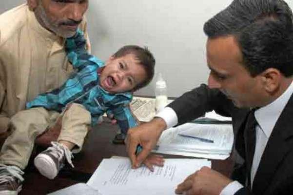 لاہور،9 ماہ کے بچے پر مقدمہ درج کرنے پر ایس ایچ او کو شوکاز نوٹس