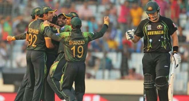 پاکستان اورآسٹریلیاکی ٹیموں کے مابین سیریزاکتوبرمیں یواے ای میں کھیلی ..