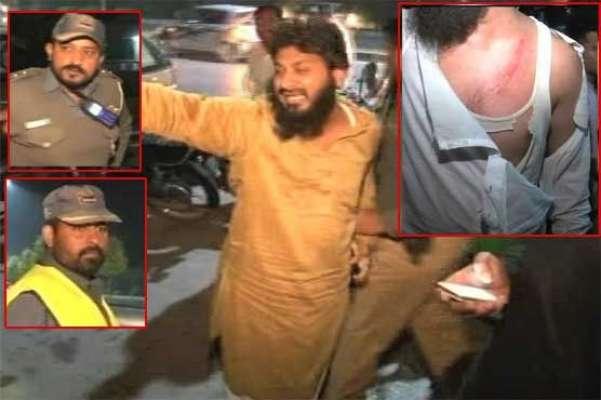 لاہور:لفٹ نہ دینے پر وارڈن گردی ،دو شہریوں کو مار مار کر بے ہوش کر دیا