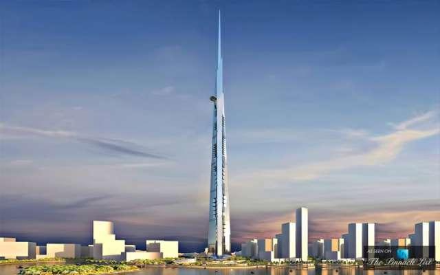 سعودی عرب میں دنیاکی سب سے بڑی عمارت کی تعمیرکاآغاز کردیا گیا ، 200منزلہ ..