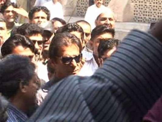 لاہور ہائیکورٹ: عمران خان کیساتھ کارکنوں کی کمرہ عدالت میں داخل ہونیکی ..