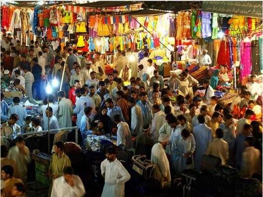 مہنگائی کے باعث عید الفطر کیلئے خریداری میں نمایاں کمی ،