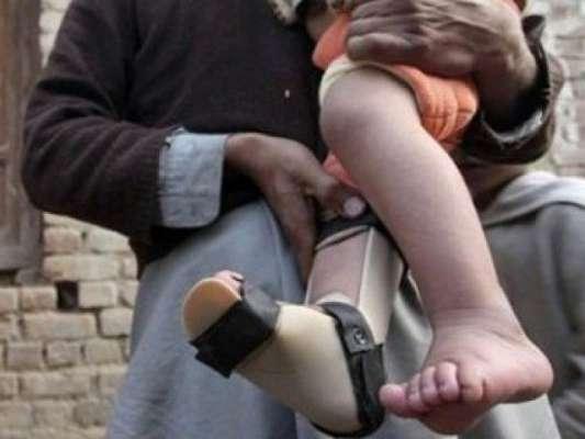 رواں سال ملک بھر میں پولیو وائرس سے 138 بچے معذور ہوگئے