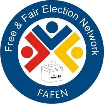 فافن نے الیکشن کمیشن سے انتخابی نتائج کے فارم جاری کرنیکا مطالبہ کر ..