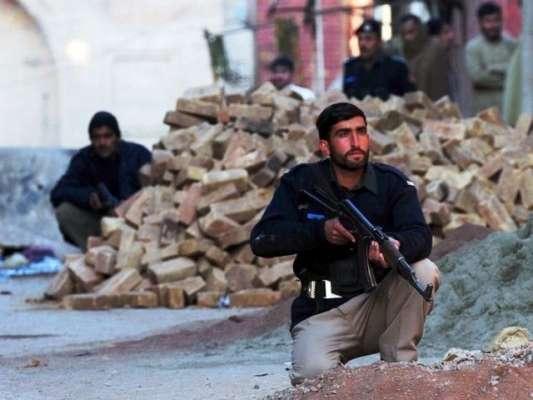 پشاور پولیس مقابلے میں ڈی ایس پی پر حملے میں ملوث کالعدم تنظیم کا کماندڑ ..
