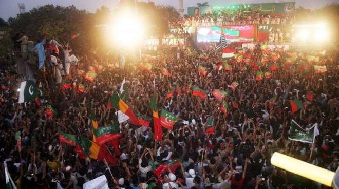 پاکستان تحریک انصاف نے کراچی میں اتوار کے روز بھرپور عوامی طاقت کا ..