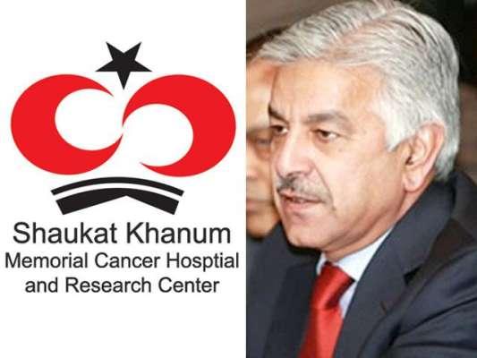 عمران خان کینسرہسپتال کے عطیات کبھی پاکستان نہیں لائے 'خواجہ آصف