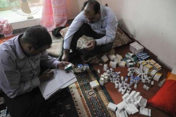 ایف آئی اے پنجاب نے معروف کمپنیوں کے نام پر جعلی ادویات کرکے فروخت کرنے ..