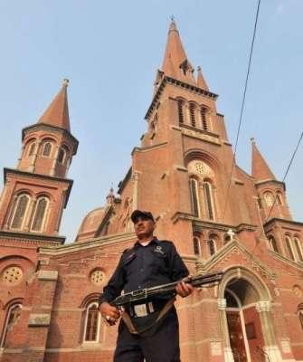 لاہور کے تین گرجا گھر حساس قرار،باقی 478 چرچزتین کیٹگریز میں تقسیم،