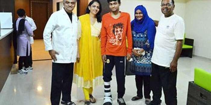 بھارتی سرجن نے پاکستانی نژاد بحرینی نوجوان کی ٹانگ کٹنے سے بچالی،رپورٹ
