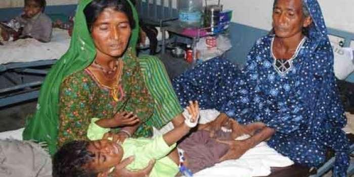 تھر پارکر : غذائیت کی کمی کے شکار چار مریض بچوں کا انتقال،تعداد 82ہوگئی