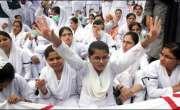 نرسنگ سکول جنرل ہسپتال کی طالبات نے 100فیصد کامیابی کی روایت برقرار ..