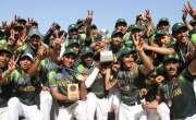 پاکستان نے 12 واں ویسٹ ایشیاء بیس بال کپ جیت لیا،