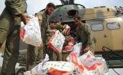 پاک فوج نے چترال کے سیلاب زدہ علاقوں میں پھنسے مزید 30افراد کو ریسکیو ..