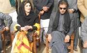 پاکستان تحریک انصاف کی رہنما عائلہ ملک ایک بار پھر عملی سیاست میں سرگرم ..