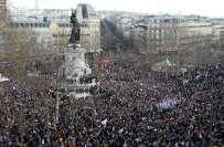 فرانس ،دہشت گرد ی کے واقعات میں ہلاک شدگان سے اظہار یکجہتی کیلئے ملک ..