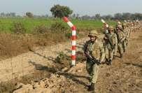 ظفر وال سیکٹر میں ورکنگ باونڈری پرایک بار پھر بھارتی فورسز کی بلااشتعال ..