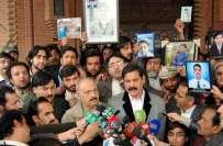 سانحہ پشاور ' شہداء کے والدین سے بدتمیزی کا سوچ بھی نہیں سکتا'شوکت ..