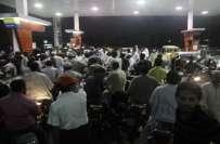 پٹرول کی قلت، سندھ بھر میں آج بھی سی این جی اسٹیشنز کھلے رہیں گے