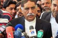 خورشید شاہ نے پیٹرولیم بحران کی تحقیقات سپریم کورٹ کے جج سے کرا نے کا ..