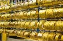 ملکی صرافہ مارکیٹوں میں سونا سستا ہوگیا ، فی تولہ قیمت49 ہزار 400 ، دس ..