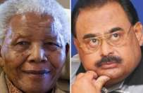 نیلسن منڈیلا کے بعد ریجن میں اگر کوئی بڑا لیڈر ہے تووہ صرف الطاف حسین ..