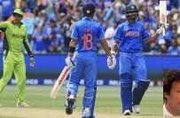 پاکستان بمقابلہ بھارت، گرین شرٹس بھارتی ہدف کا تعاقب کرسکتی ہے ،وکٹیں ..