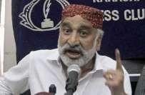 بدین'سندھ حکومت نے ڈاکٹر ذوالفقارمرزا کی سیکیورٹی واپس لے لی